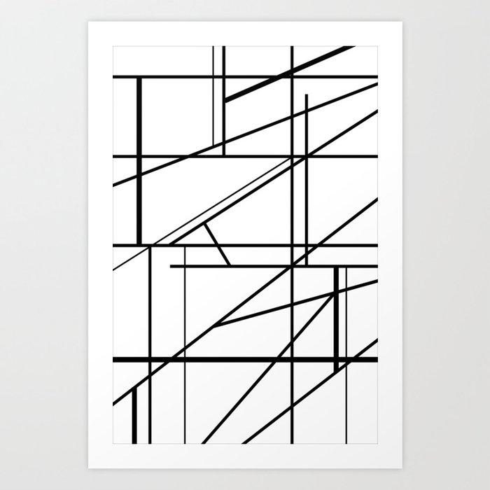 Extraction Art Print