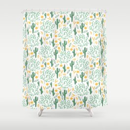 cactuses (3) Shower Curtain