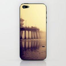 Huntington Beach Pier iPhone & iPod Skin