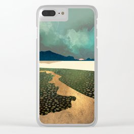 Distant Land Clear iPhone Case