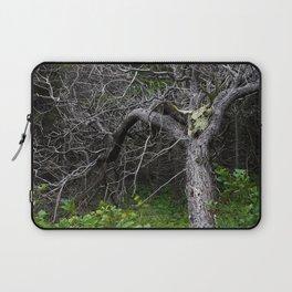 Forest Spirit Skull Laptop Sleeve