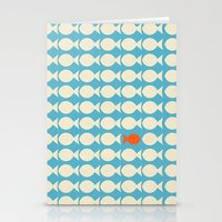 finding nemo Stationery Cards featuring Finding Nemo Movie Poster by RoarsAdams