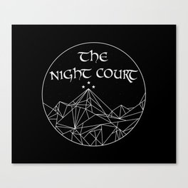 The Night Court Canvas Print