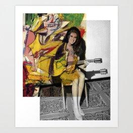 Bobbie Gentry Art Print