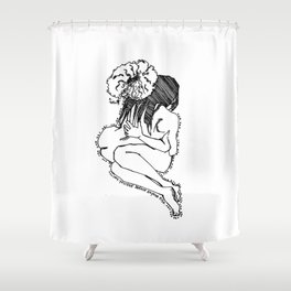 Love yourself IV Shower Curtain