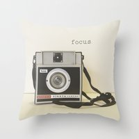 focus Throw Pillows featuring Focus by ShadeTree Photography