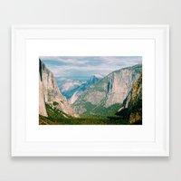 yosemite Framed Art Prints featuring Yosemite  by KPC Photography