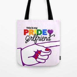 This Is My Pride Girlfriend (L) Tote Bag