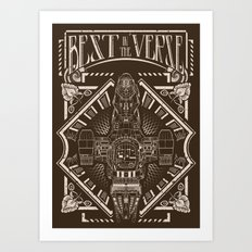 Best in the 'Verse Art Print