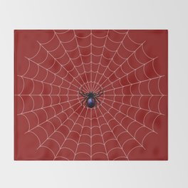 Spider man Bite Throw Blanket