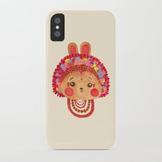 The Flower Crown Bunny Slim Case iPhone X