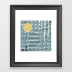 Withered Weather Framed Art Print