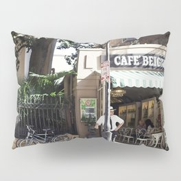New Orleans Cafe Beignet Pillow Sham