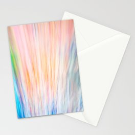 Rainbow Abstract Stationery Cards