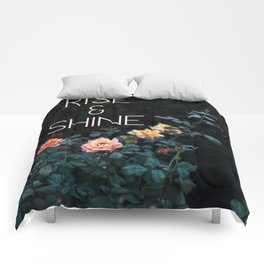 Rise and Shine (Rose) Comforters