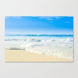Beach Love Summer Sanctuary Canvas Print
