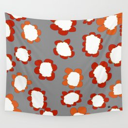 Daisies on Putty pattern Wall Tapestry