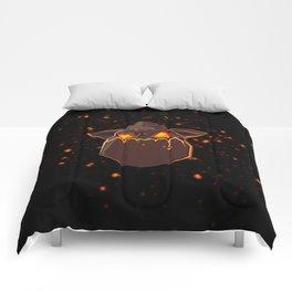 Lava Hound Comforters