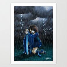 Neptune Princess Art Print