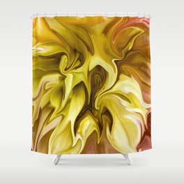 Watered Down Shower Curtain