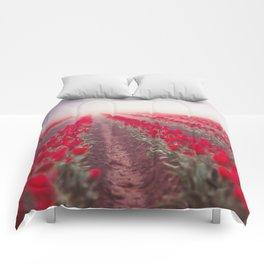 Tulip Perspective Comforters