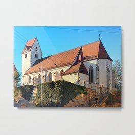 The village church of Rainbach I | architectural photography Metal Print