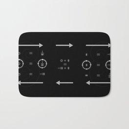 One, Zero, Infinity - An Artistic Proof Bath Mat