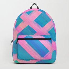 Pink Hatch Backpack