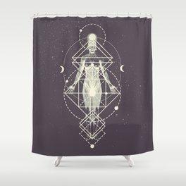 Sacred Geometry (Divine Feminine) Shower Curtain