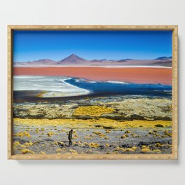 Laguna Colorada Serving Tray