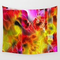 holiday Wall Tapestries featuring Holiday by BeachStudio