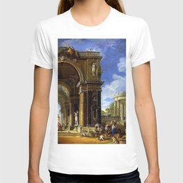 Giovanni Paolo Pannini Masterpiece: Circe Entertaining Odysseaus at a Banquet T-shirt