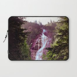 Shannon Falls in Pink and Green Laptop Sleeve