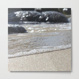 Surge at The Baths on Virgin Gorda, BVI Metal Print