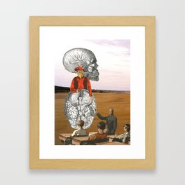 Free Your Mind, And Your Ass Will Follow Framed Art Print
