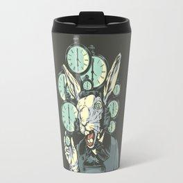 A Hare Late Travel Mug