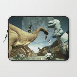 Dinosaur Road Trip Laptop Sleeve
