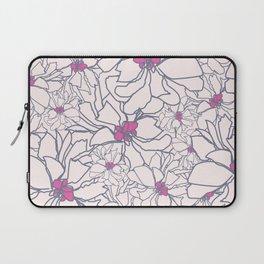 Pink Peony Garden Laptop Sleeve