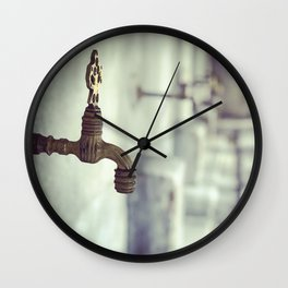 Ablution Solution Wall Clock