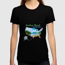 Jordan Pond Maine USA T-shirt