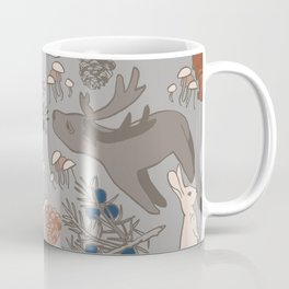 REINDEERS IN THE FOREST. Coffee Mug