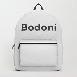 Designer Cringe Fest (Bodoni) Backpack