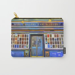 The Prospect Of Whitby Pub Pop Art Carry-All Pouch