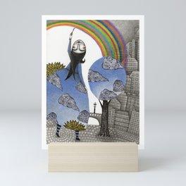 Rainbow Mine Mini Art Print