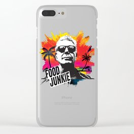 Food Junkie Clear iPhone Case