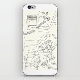 la mueblería de sigfredo iPhone Skin