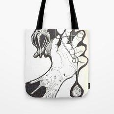 Under My Skin Tote Bag