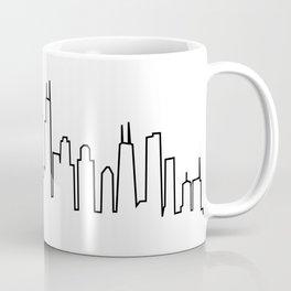 Chicago, Illinois City Skyline Coffee Mug