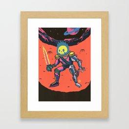 Space Pirate Framed Art Print