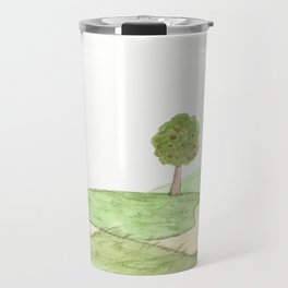 The little Prince and the Fox Travel Mug